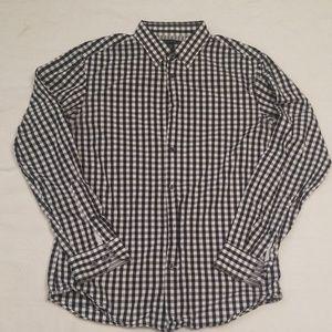 Banana Republic Med 15-15.5 neck button down shirt